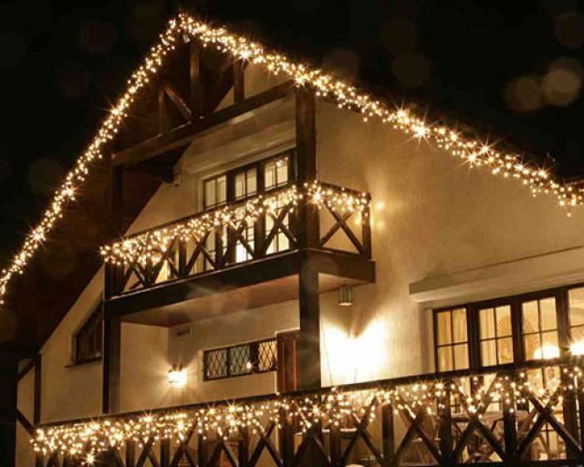 Подсветка домов и коттеджей