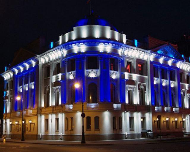 Подсветка административных зданий